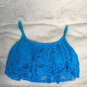 Kenneth Cole Reaction Lace Bikini Top